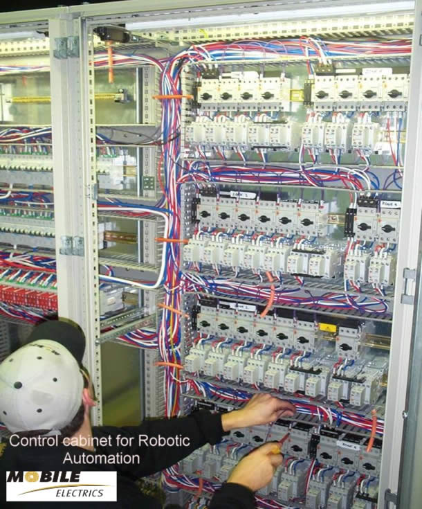 Control Cabinets Mobile Electrics